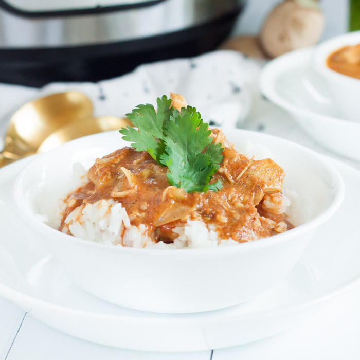 Enjoy Instant Pot Tikka Masala Recipe in just 20 minutes for an easy meal. Pressure cooker tikka masala is packed with flavor.
