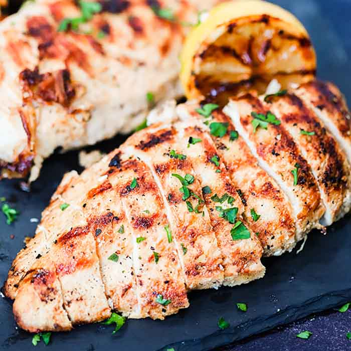 pepper grilled chicken breast recipe lemon