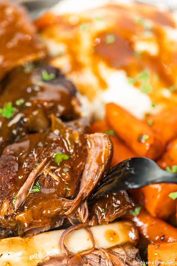Crock pot braised short ribs recipe gives you tender ribs with the ease of the slow cooker. Now you can enjoy braised ribs any day of the week.