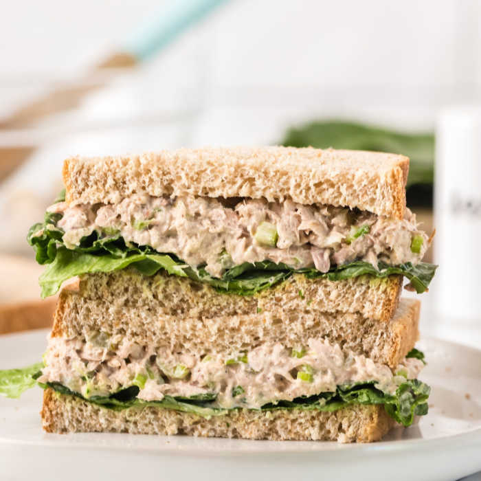 Tuna Salad Sandwich Recipe The Best Tuna Salad Sandwich