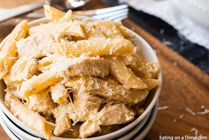 Crock Pot Olive Garden Chicken Alfredo Pasta Delicious And Easy