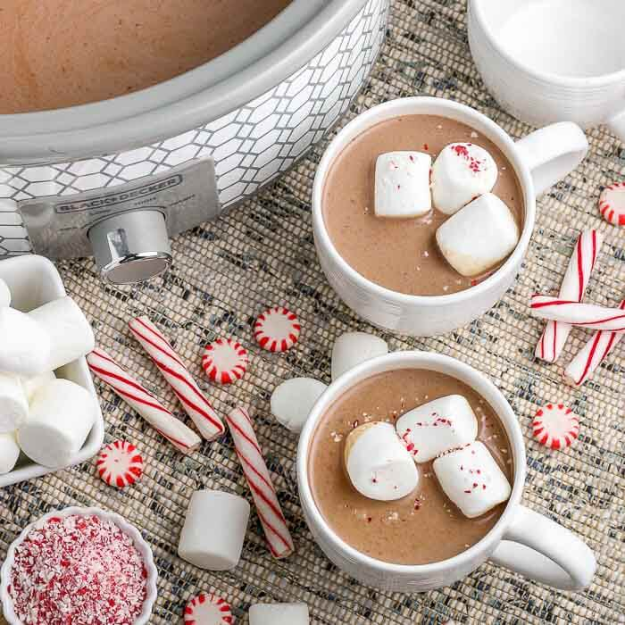 Crock Pot Hot Chocolate Recipe Only 5 Ingredients