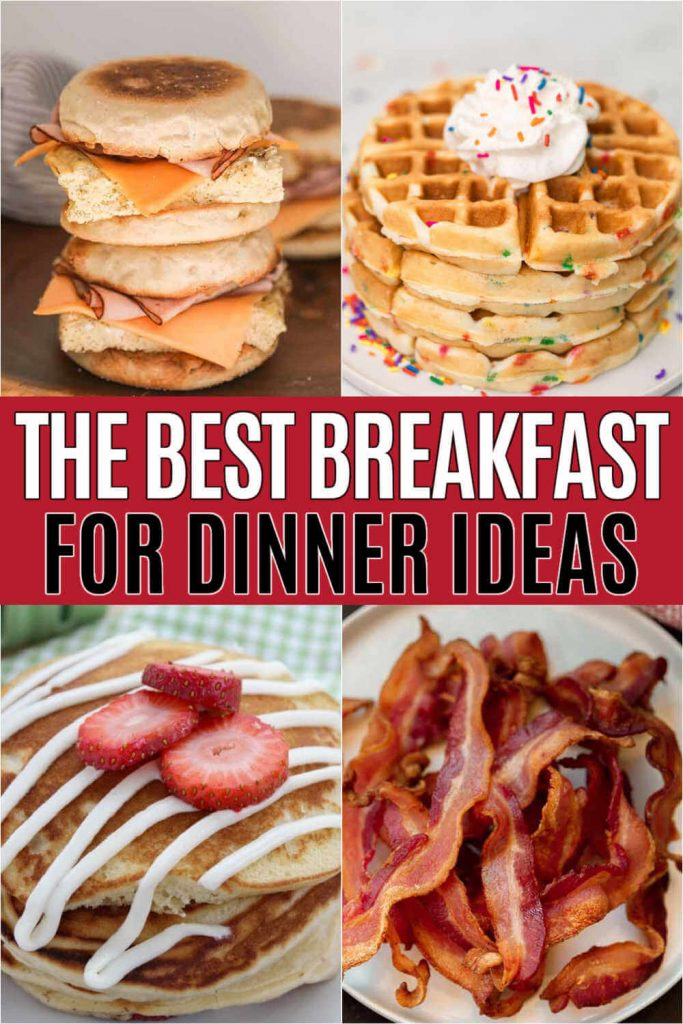 Who else loves breakfast for dinner? These delicious breakfast recipes are the perfect breakfast for dinner ideas. They are easy, healthy and delicious too! I love eating breakfast at night time and these are the perfect recipes to serve! #eatingonadime #breakfastrecipes #breakfastfordinner #easyrecipes