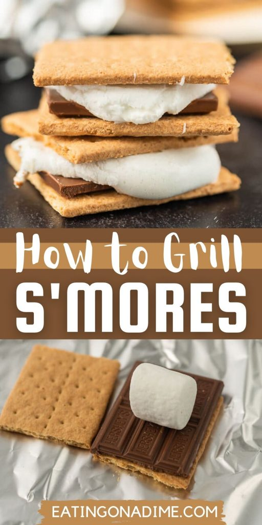 Learn how to make easy grilled smores and enjoy an ooey gooey treat when grilling. We have all the best tips and tricks to grill smores.
