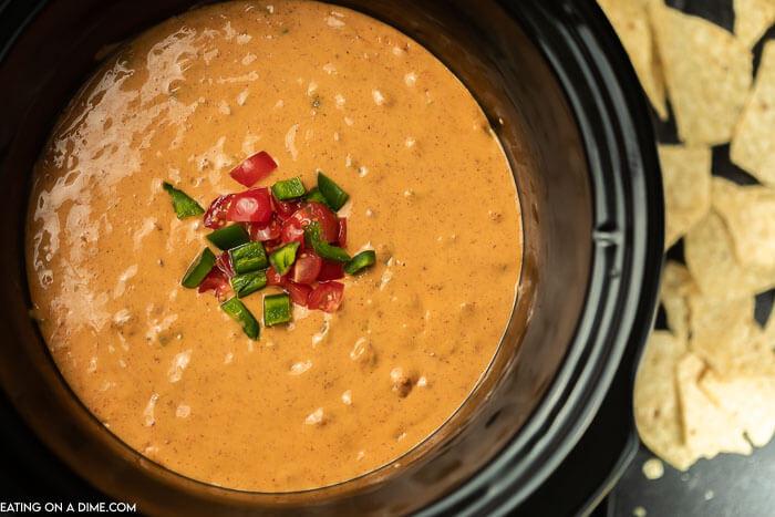 chili cheese dip in crock pot