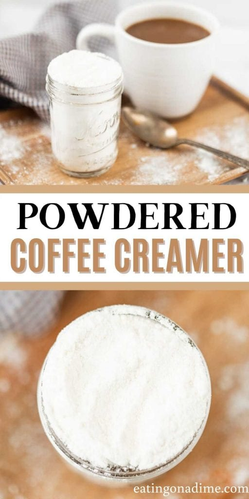Make delicious homemade powdered coffee creamer with only 3 ingredients at home. Take coffee to the next level with this delicious recipe.
