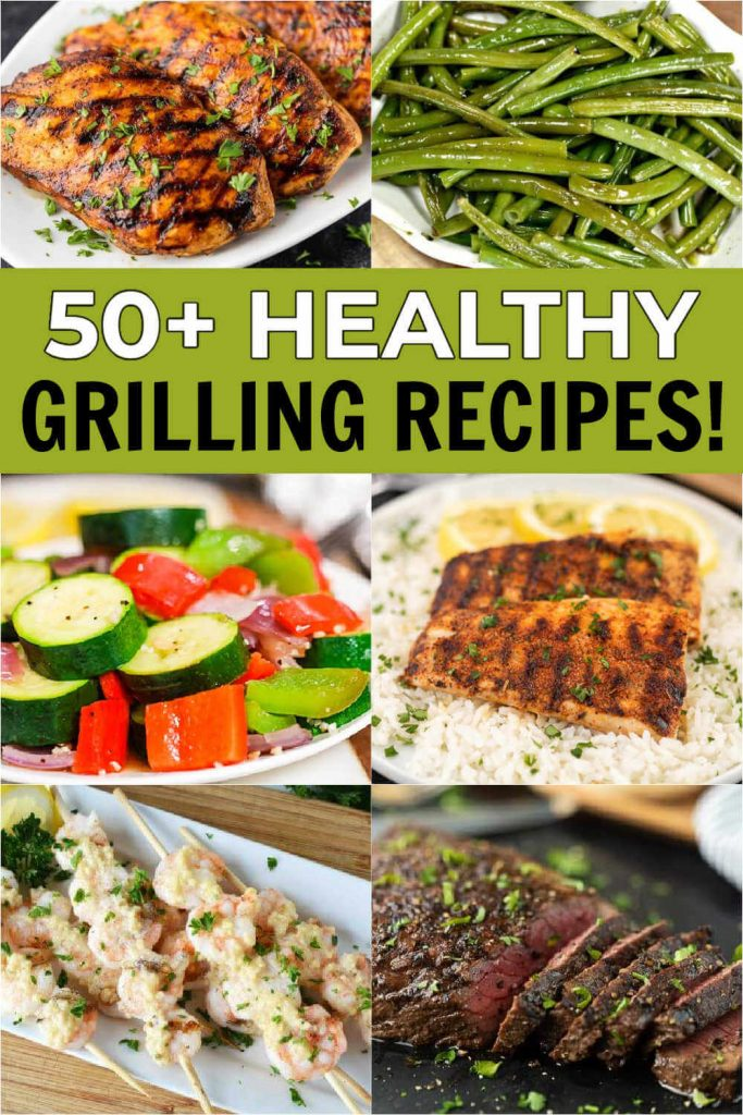 Grilling is so much fun and we have lots of easy healthy grilling recipes . From chicken and beef to veggies and more, there are tons of ideas. You'll love these healthy grilling dinner recipes including foil packets.  #eatingonadime #healthyrecipes #grillingrecipes