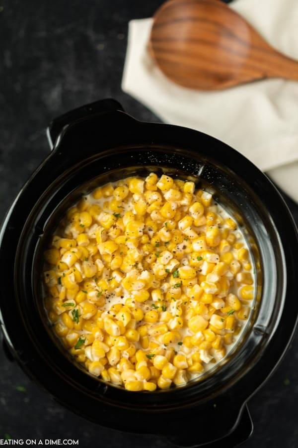 creamed corn in crock pot