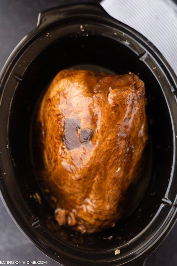 ham in the crock pot with glaze
