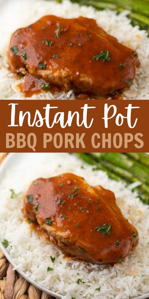 Everyone will love this Instant Pot BBQ Pork Chops Recipe! BBQ Boneless Pork Chops Recipe is incredibly simple. Try Barbecue Pork Chops Pressure Cooker Recipe today! This recipe is easy to make and delicious too! #eatingonadime #instantpotrecipes #porkrecipes #pressurecookerrecipes