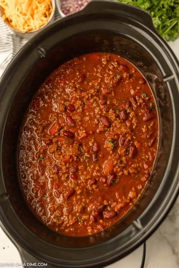 Cowboy Chili is a crock pot.
